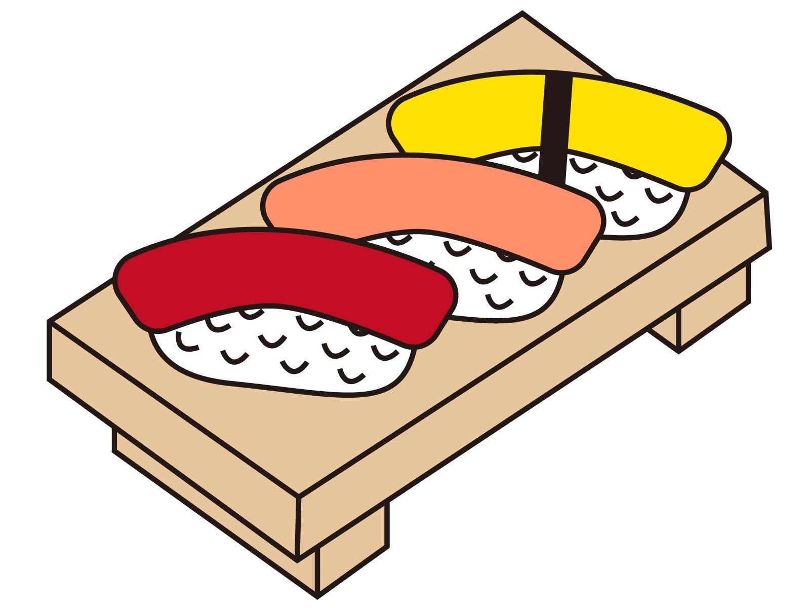 寿司1貫の糖質は何グラム?