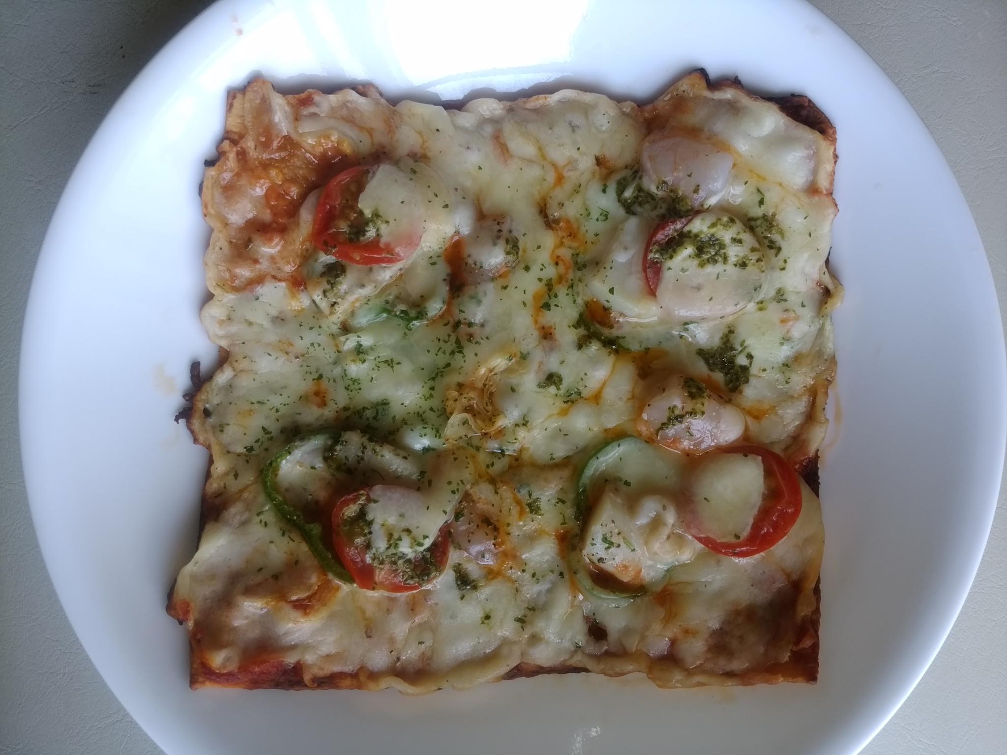 糖質制限ダイエットを実践中でも食べることができるピザ