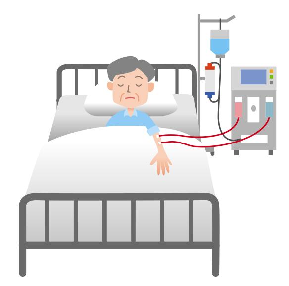 糖尿病性腎症により人工透析にならないためにも糖質制限を